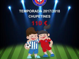 TEMPORADA 2017/2018 CHUPETINES FUTBOL C.D. CARRANZA
