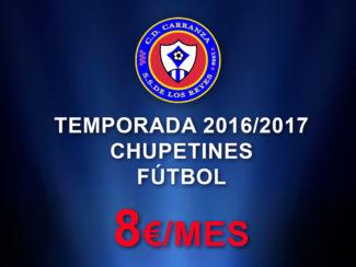PROMOCIÓN CHUPETINES C.D. CARRANZA TEMPORADA 2016/2017