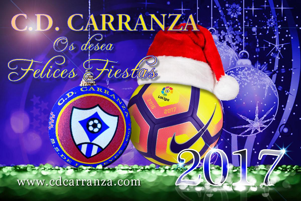 C.D. CARRANZA Os desea Felices Fiestas