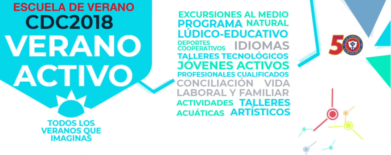 ESCUELA DE VERANO CDC2018 VERANO ACTIVO